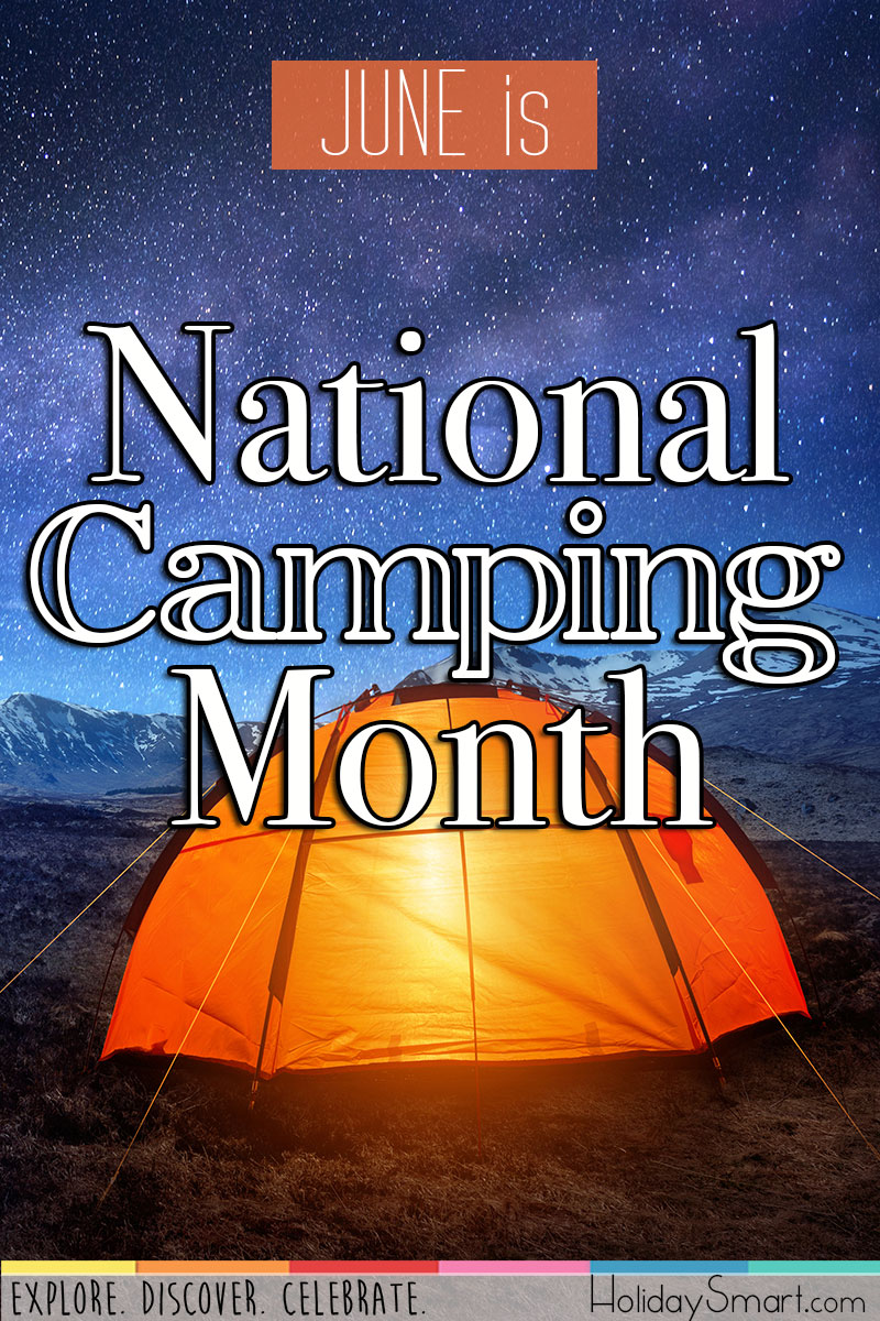 June is National Camping Month