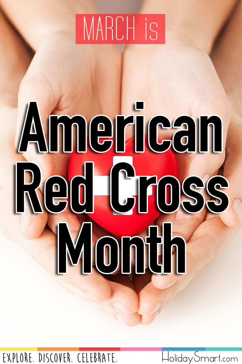 March is American Red Cross Month