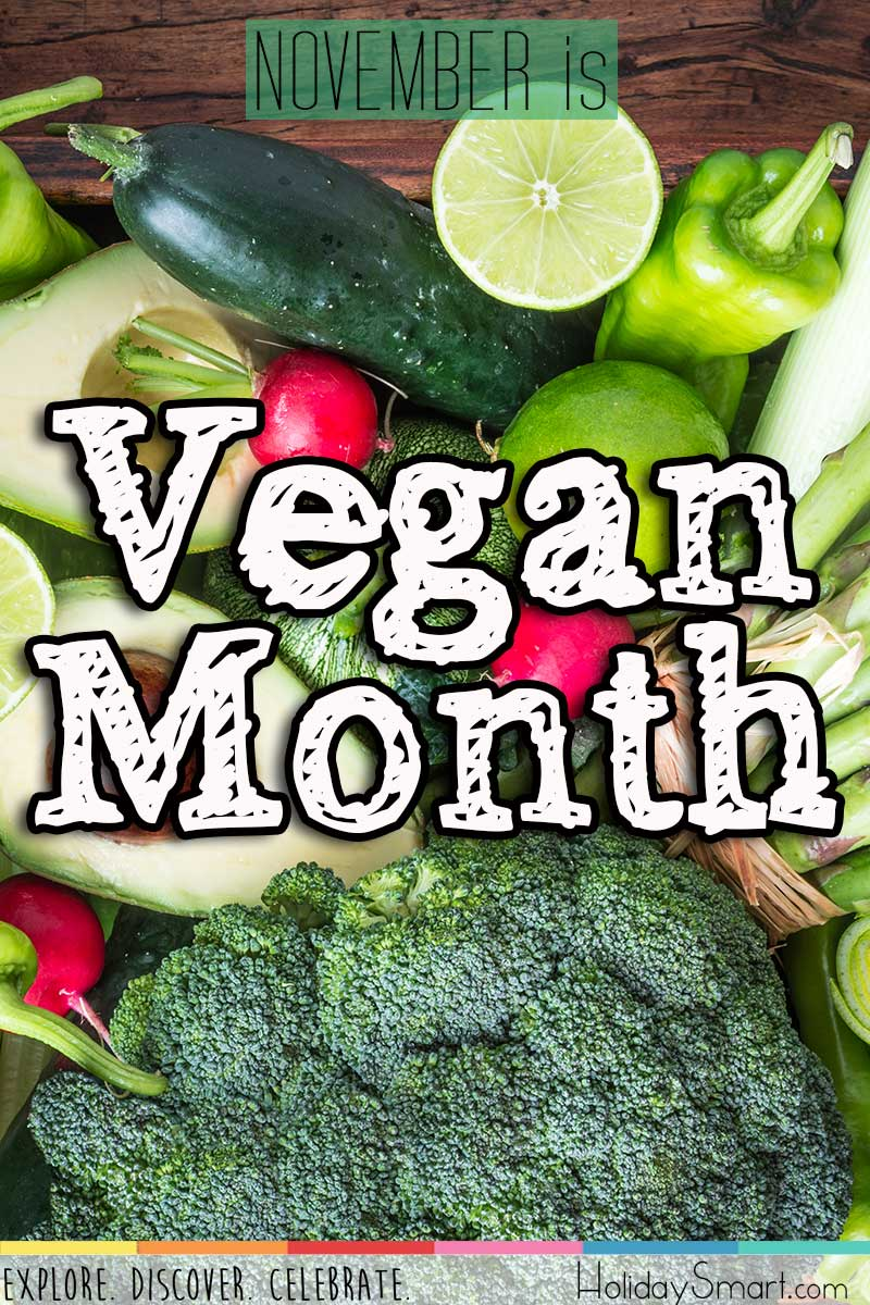 November is Vegan Month