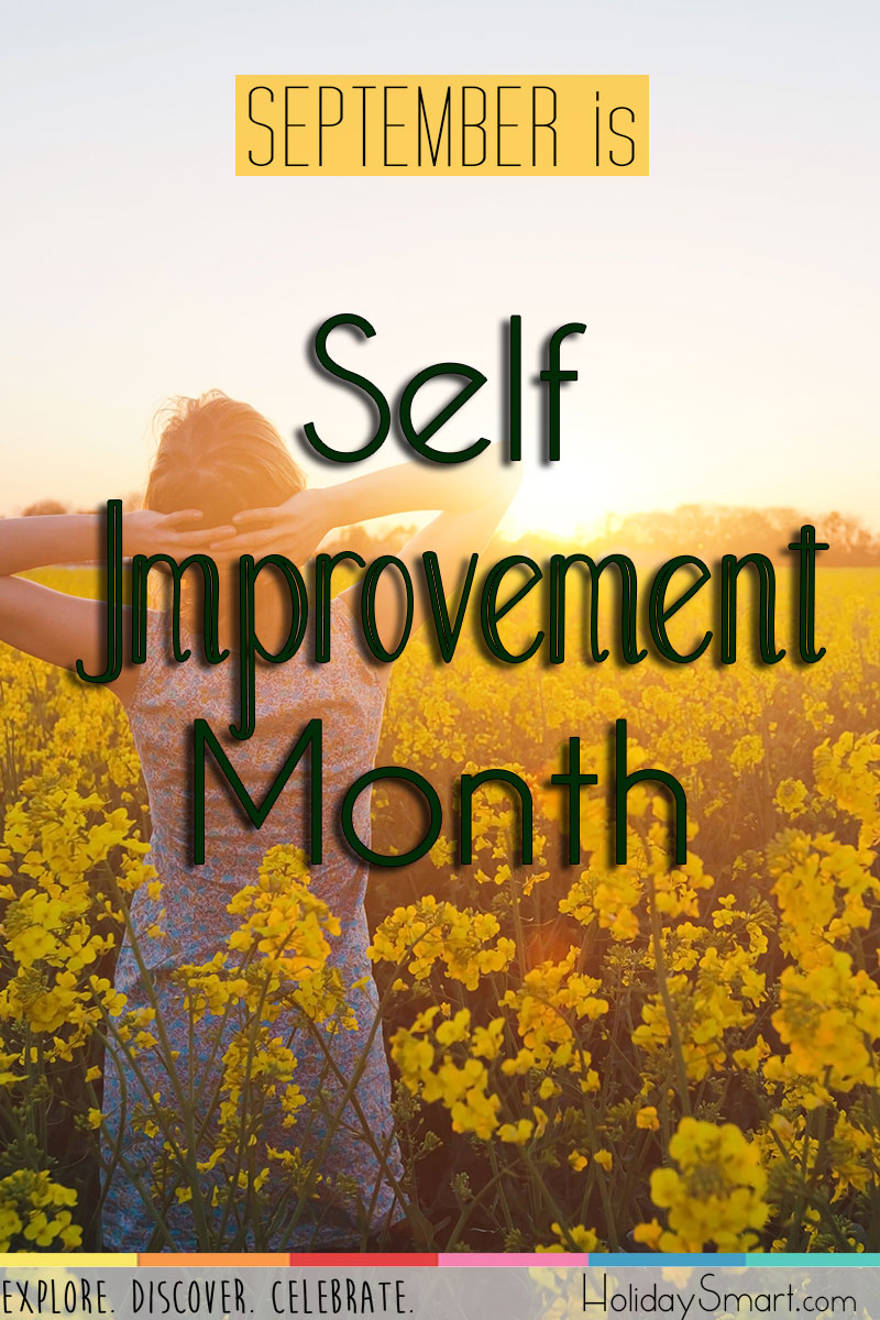September is Self Improvement Month!