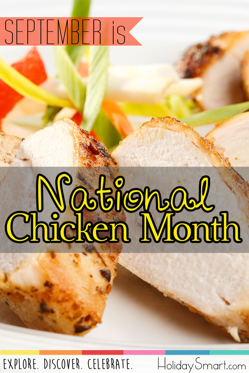 September is National Chicken Month!