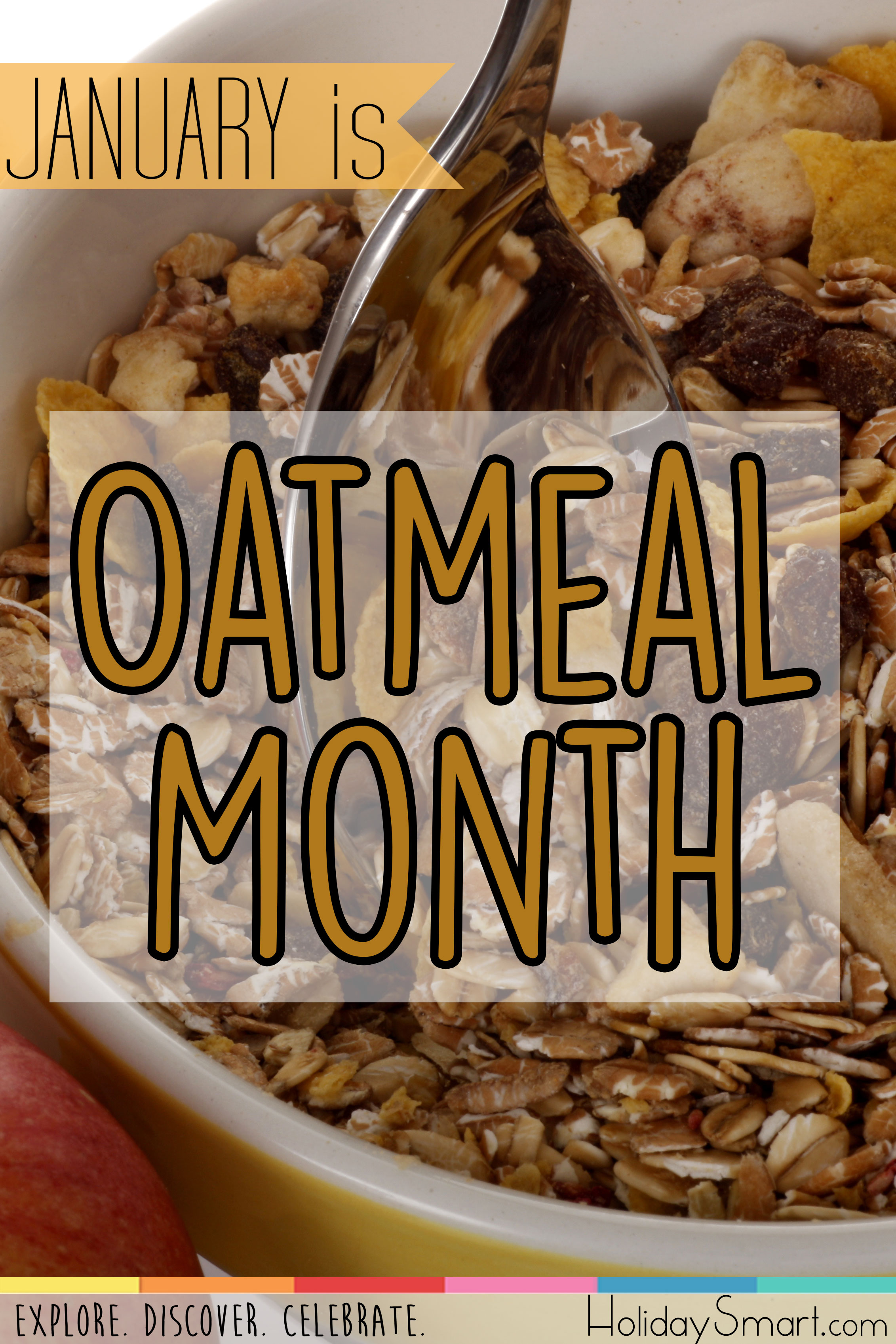 January is Oatmeal Month
