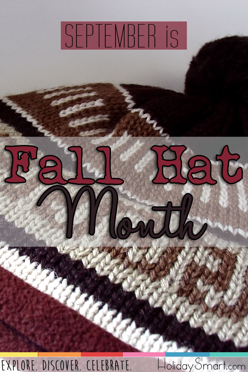 September is Fall Hat Month!