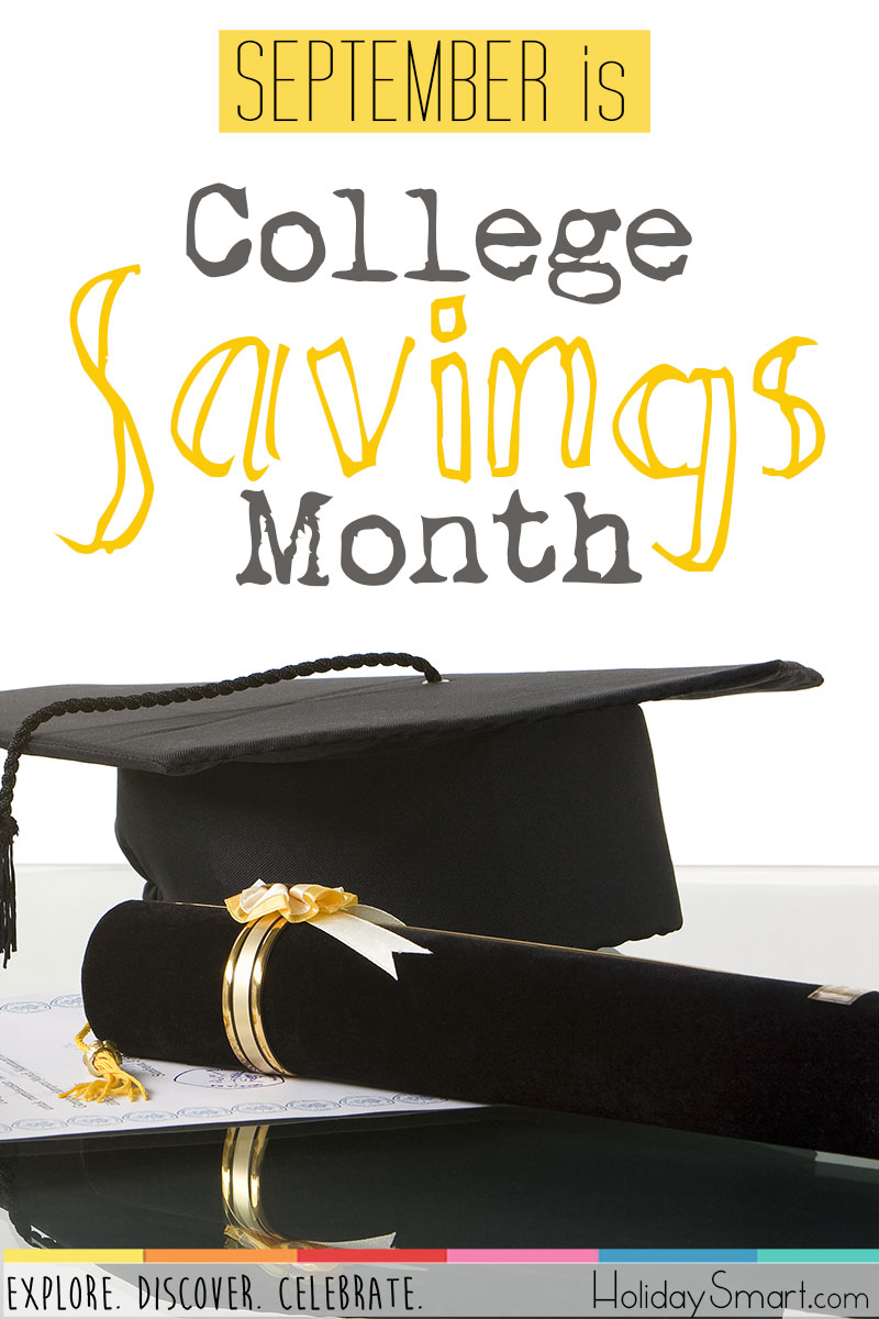 September is College Savings Month!