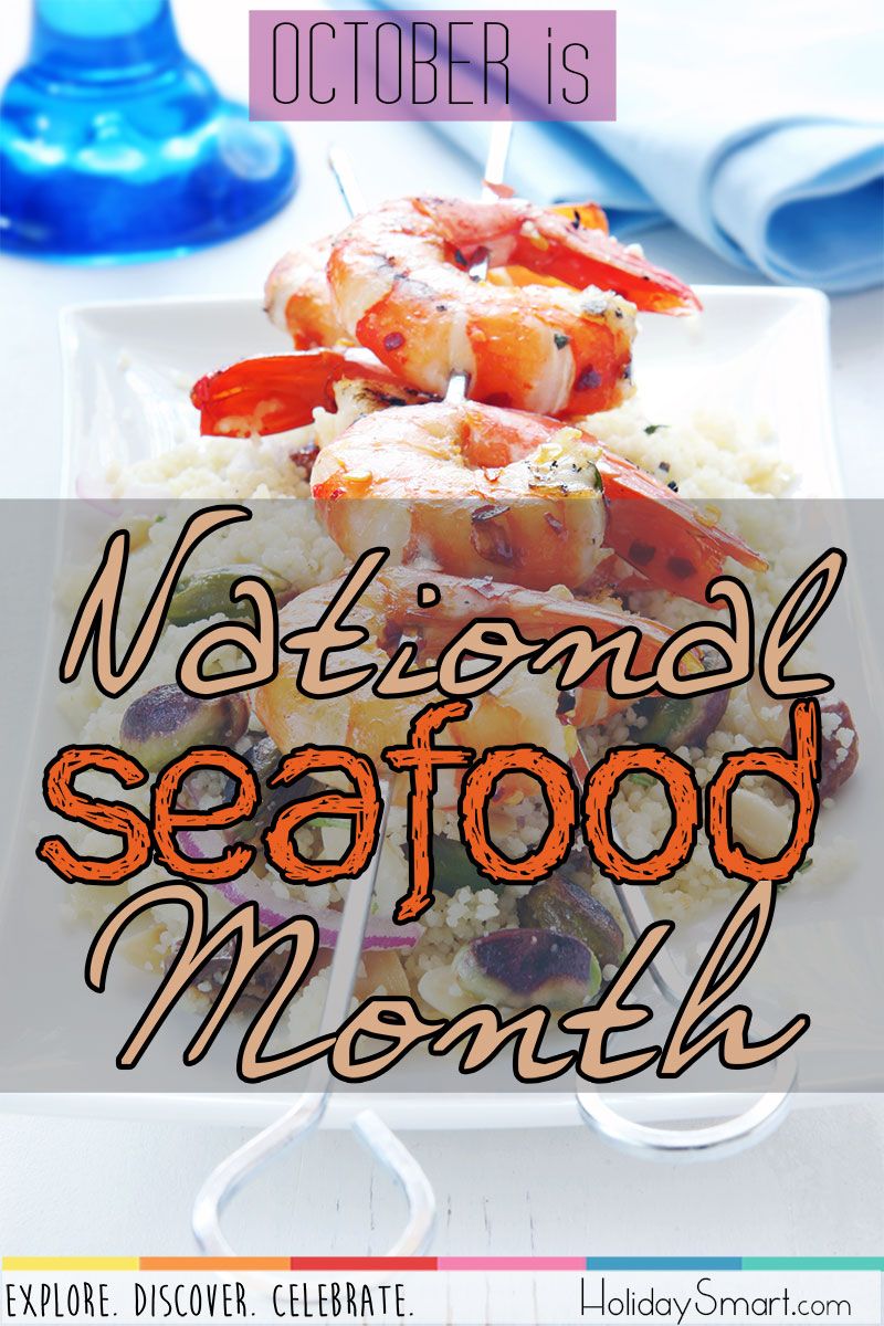 October is National Seafood Month