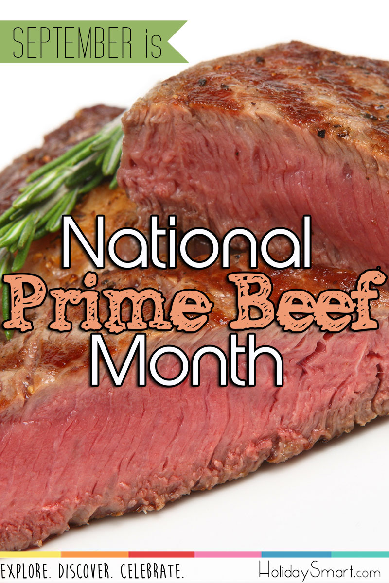 September is National Prime Beef Month!