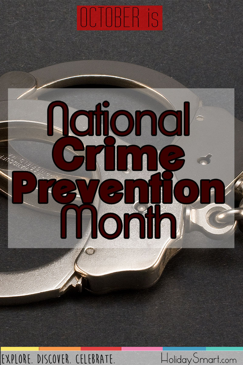 October is National Crime Prevention Month