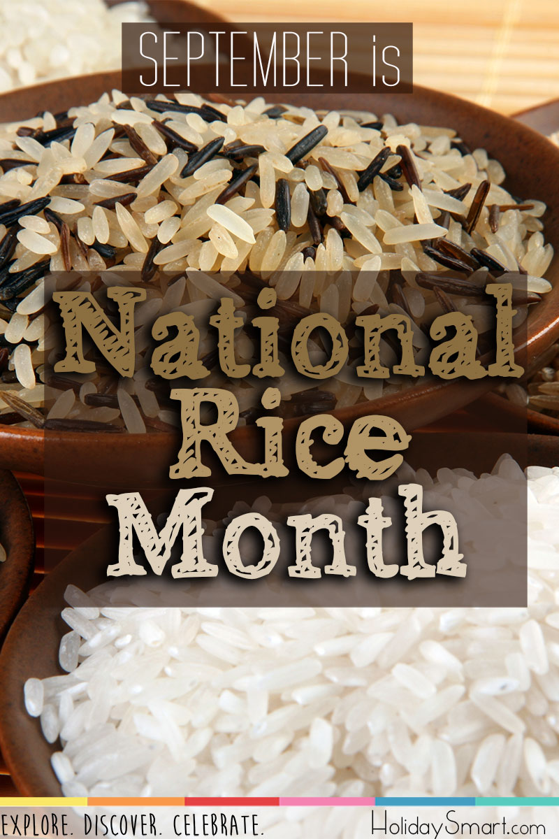September is National Rice Month!