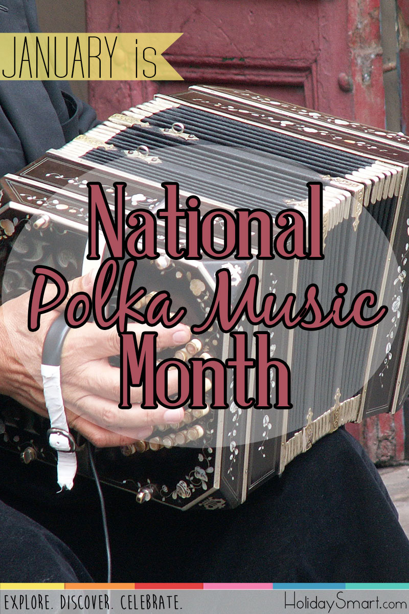 January is National Polka Music Month