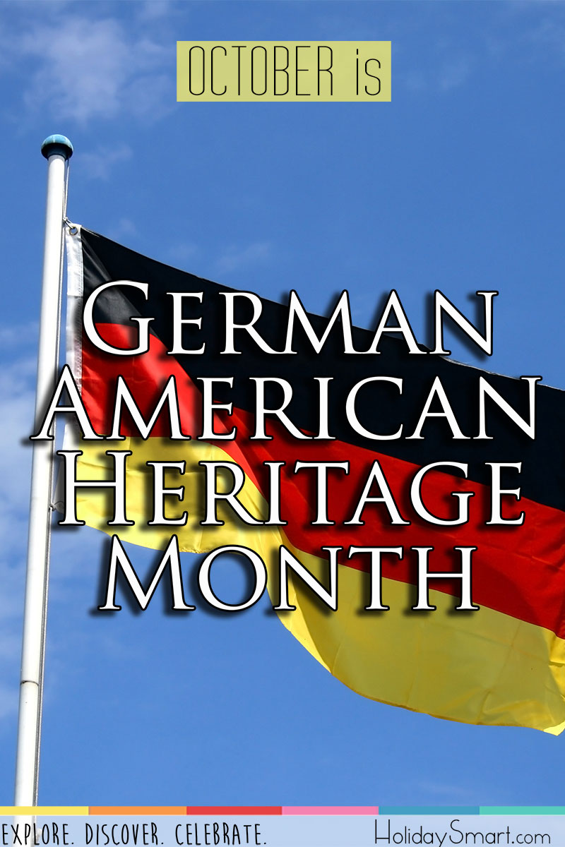 German American Heritage Month Holiday Smart