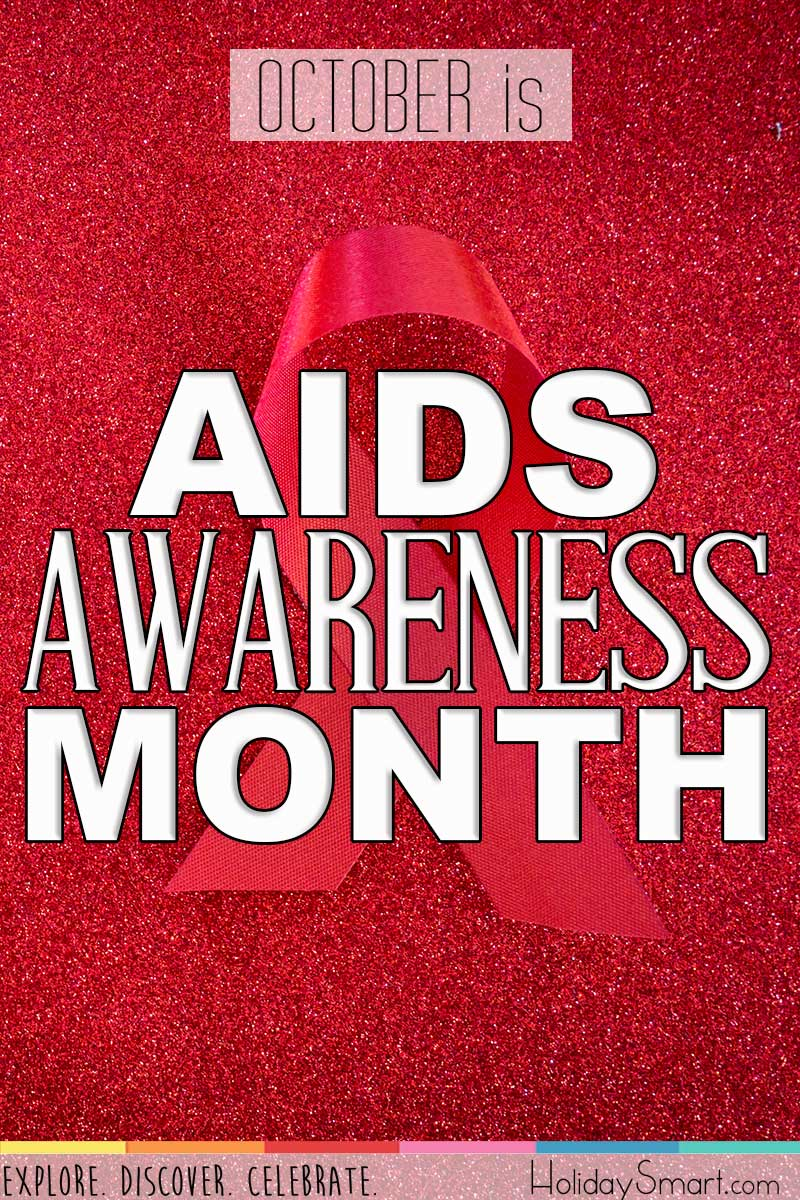 October is AIDS Awareness Month