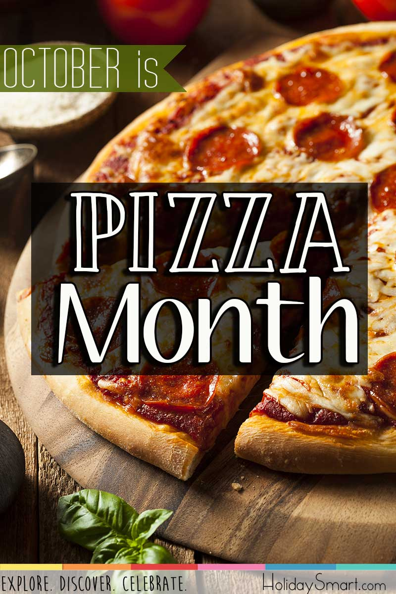 October is Pizza Month