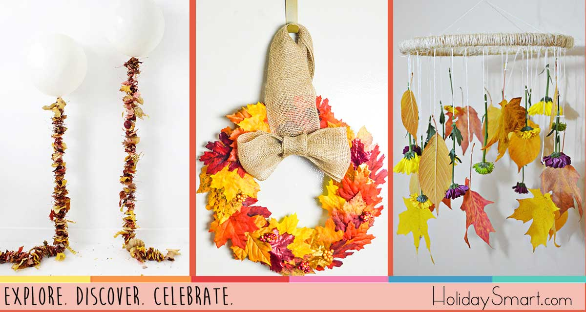 11 Ways To Use Leaves In Your Thanksgiving Decor