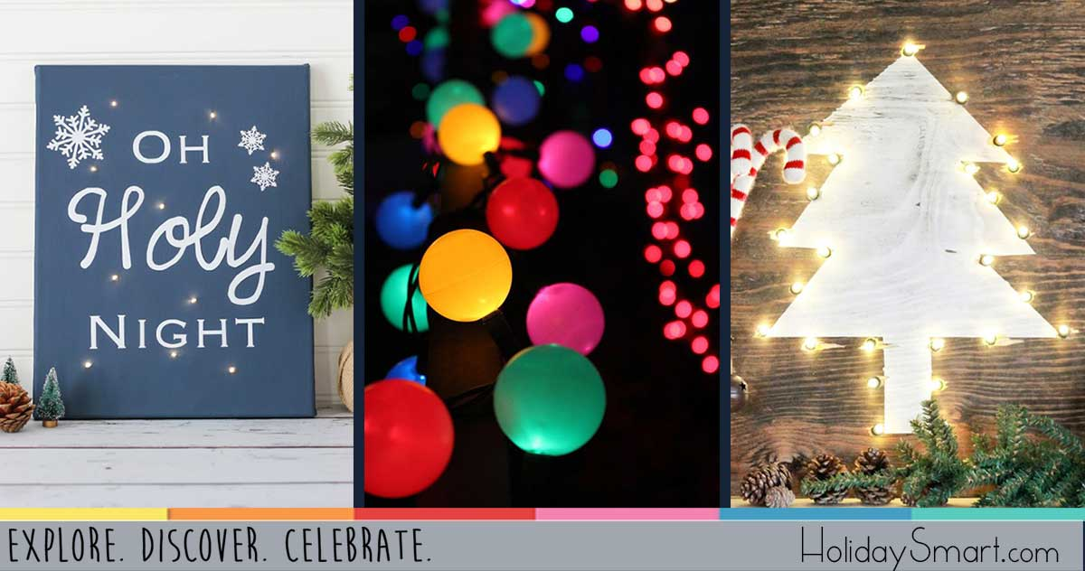15 DIY Projects Using String Lights HolidaySmart