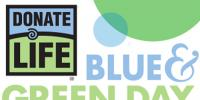Donate Life Blue and Green Day