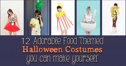 DIY food costumes