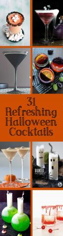 31 Refreshing Halloween Cocktails for a grown-up Halloween
