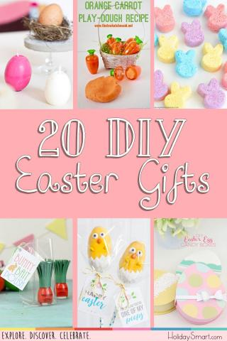 20 DIY Easter Gifts