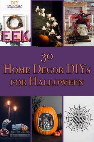 30 Home Decor DIYs for Halloween