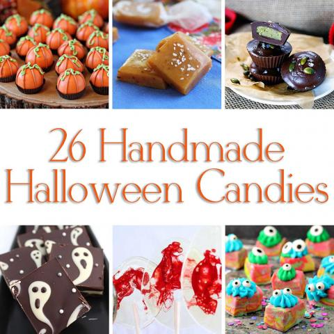 26 Homemade Halloween Candies