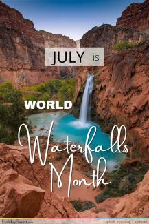 World Waterfalls Month