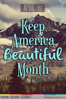 April is Keep America Beautiful Month