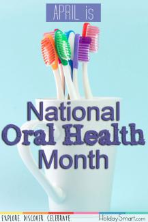 April is National Oral Health Month