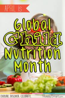 April is Global Child Nutrition Month