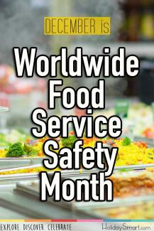 Worldwide Food Service Safety Month
