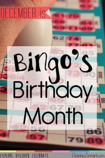 Bingo's Birthday Month
