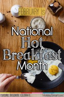February is National Hot Breakfast Month