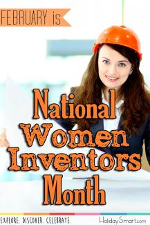 February is National Women Inventors Month