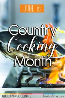 June is Country Cooking Month