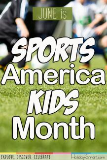 June is Sports America Kids Month