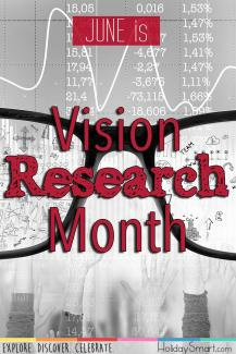 June is Vision Research Month