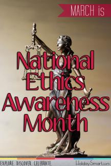 March is National Ethics Awareness Month