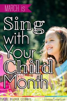 March is Sing with Your Child Month
