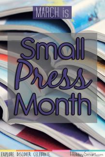 March is Small Press Month
