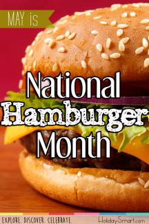 May is National Hamburger Month