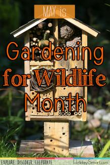 May is Gardening for Wildlife Month