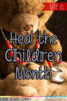 May is Heal the Children Month