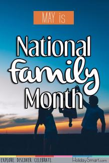 May is National Family Month