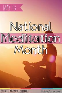 May is National Meditation Month