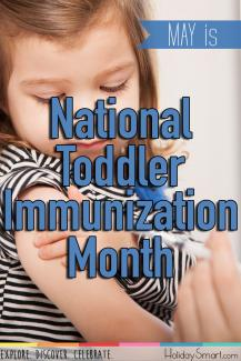 May is National Toddler Immunization Month
