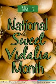May is National Sweet Vidalia Month