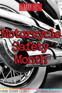 May is Motorcycle Safety Month