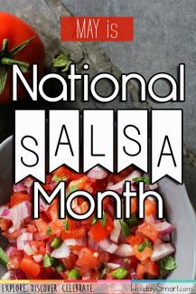 May is National Salsa Month