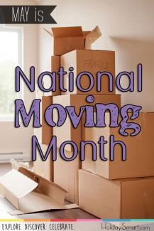 May is National Moving Month