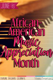 June is African-American Music Appreciation Month
