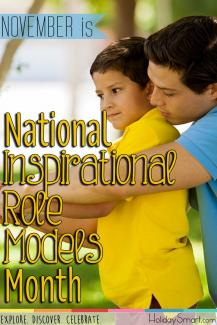 November is National Inspirational Role Models Month